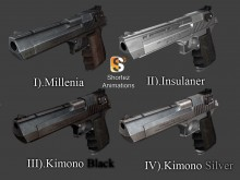 Desert Eagle on Shortez Anims PACK