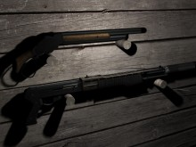 Akimbo Shotguns: Spas 12 + Winchester Model 1887