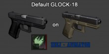 Default GLOCK-18 on Zeej Animations V2