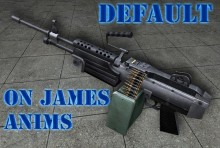 M249 Def on James Anims