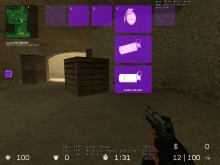 [White & Purple hud for new CSS]