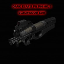 [DarkElfa's P90 Mk.3 Black Edit]