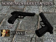 Schmung's Beretta 92FS on Valve Animations