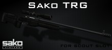 Sako-TRG for scout