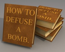 [How to defuse a bomb book.]